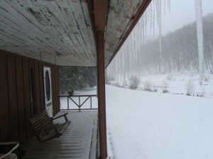 Front Porch Icicles.....
