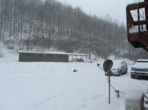 Snowy hills......